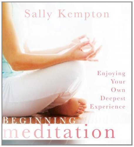 Sally Kempton Beginning Meditation Enjoying Your Own Deepest Experience Abridged