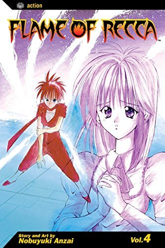 Nobuyuki Anzai Flame Of Recca Volume 4