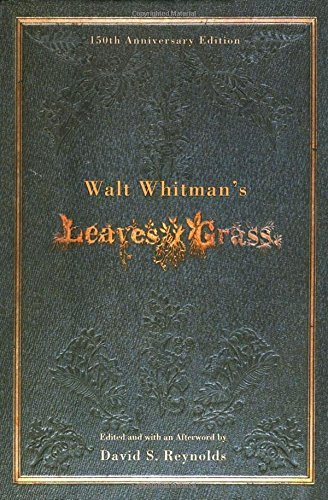 Walt Whitman Walt Whitman's Leaves Of Grass 0150 Edition;anniversary