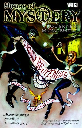 Matthew Sturges House Of Mystery Volume 5 Under New Management