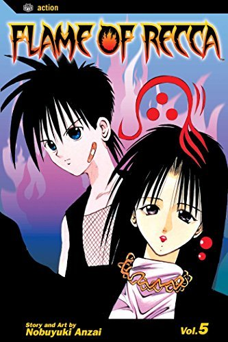 Anzai Nobuyuki Flame Of Recca Volume 5