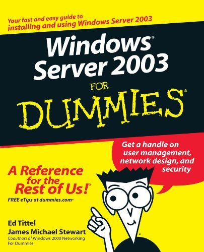 Ed Tittel Windows Server 2003 For Dummies 0002 Edition;