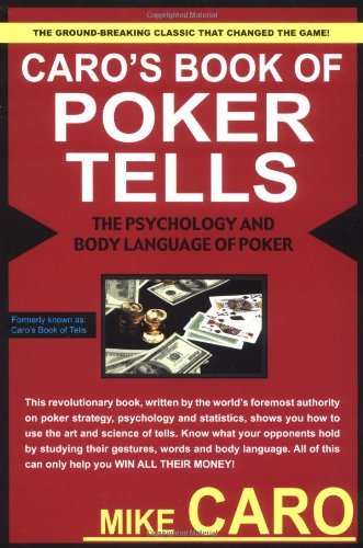 Mike Caro Caro's Book Of Poker Tells Original