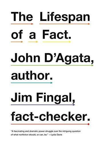 John D'agata The Lifespan Of A Fact
