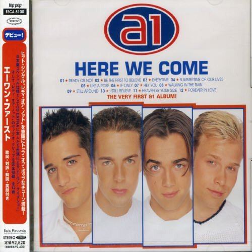A1 Here We Come Enhanced CD