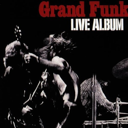 Grand Funk Railroad Live Album Import Deu