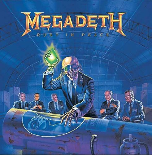 Megadeth Rust In Peace Lmtd Ed.