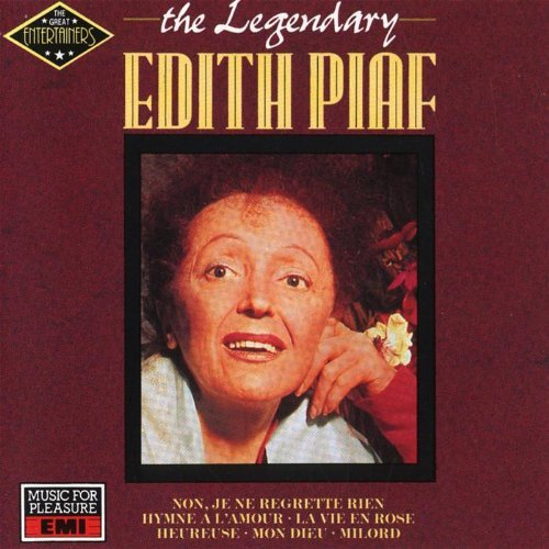 Edith Piaf Legendary Edith Piaf Import Eu