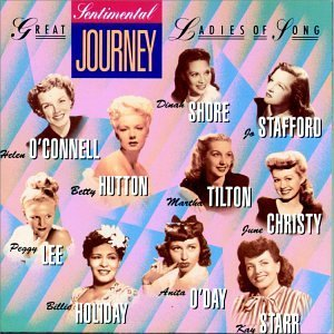 Great Ladies Of Song Vol. 2 Sentimental Journey Shore Andrews Sisters Holiday Great Ladies Of Song