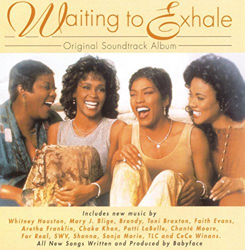 Various Artists Waiting To Exhale Houston Brandy Tlc Franklin Blige Braxton Labelle Khan Swv
