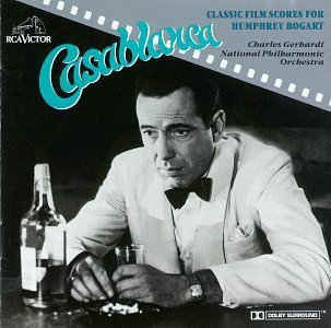 Casablanca Film Scores For Humphrey Bogar Gerhardt Natl Po