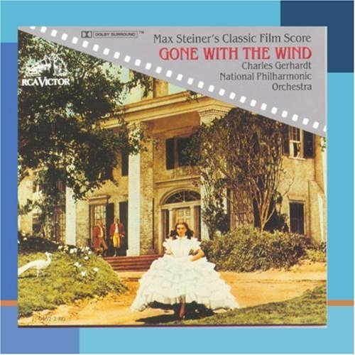 M. Steiner Gone With The Wind CD R Gerhardt Natl Po