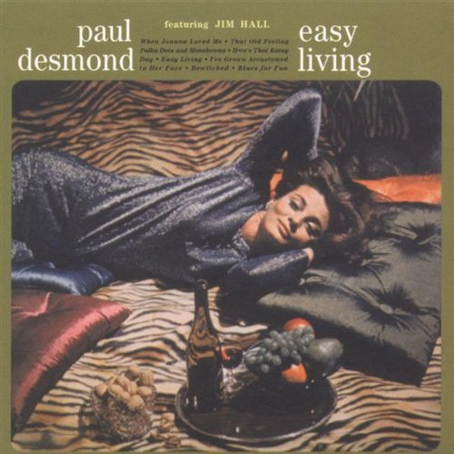 Paul Desmond Easy Living CD R