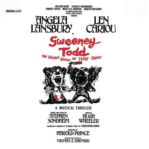 Sweeney Todd Original Cast Original Broadway Cast Broadway