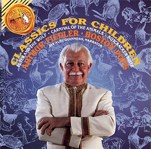 Arthur Fiedler Classics For Children Guiness*alec (nar) Fiedler Boston Pops Orch