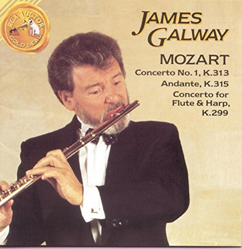 W.A. Mozart Concerto For Flute & Harp Galway (fl) Robles (hp) Baumgartner & Mata Various