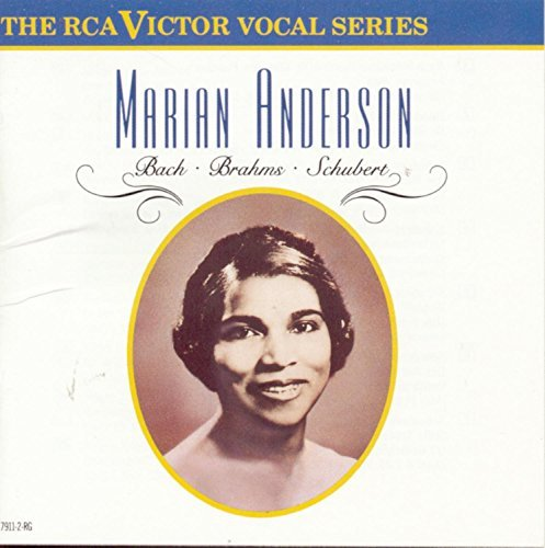 Marian Anderson Rca Victor Vocal Series Coll Anderson (mez)