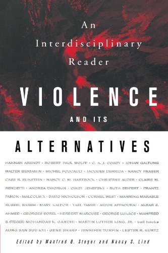 Manfred B. Steger Violence And Its Alternatives An Interdisciplinary Reader 1999