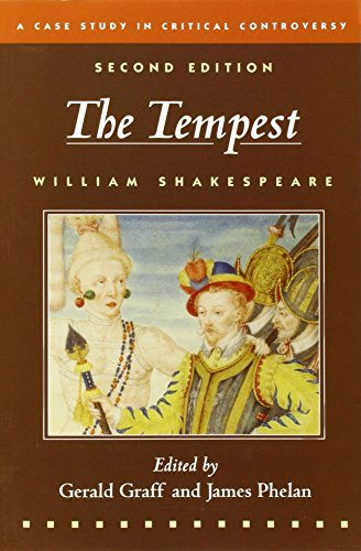 William Shakespeare The Tempest A Case Study In Critical Controversy 0002 Edition;