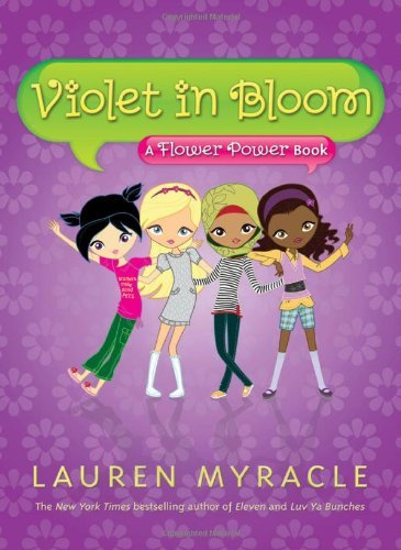 Lauren Myracle Violet In Bloom