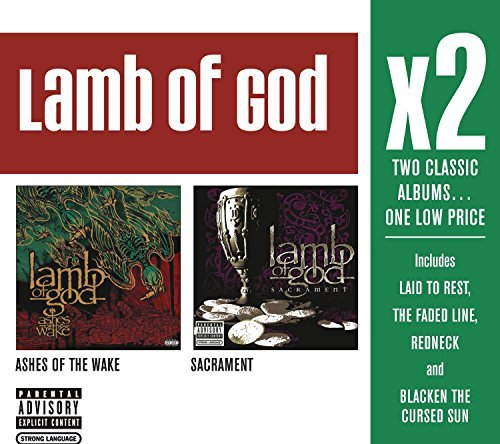 Lamb Of God X2 (ashes Of The Wake Sacramen Explicit Version 2 CD
