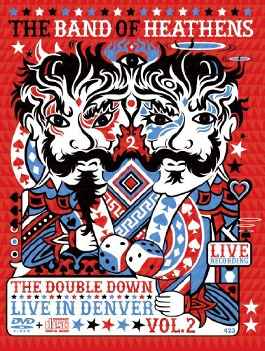 Band Of Heathens Vol. 2 Double Down Live In Den Incl. CD