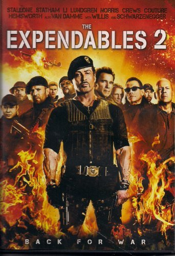 Expendables 2 Stallone Statham Willis Schwar
