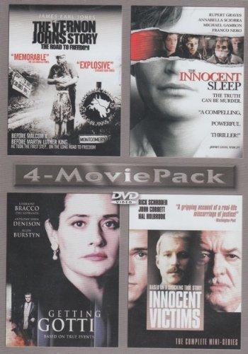 The Vernon Johns Story The Innocent Sleep Getting Gotti Innocent Victims 4 Movie Pack