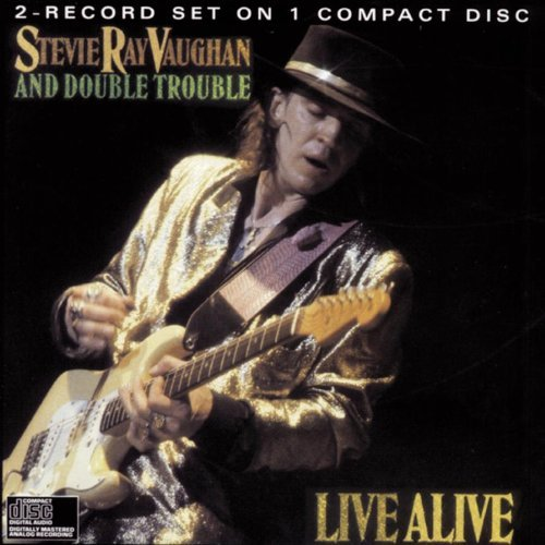 Stevie Ray Vaughan Live Alive