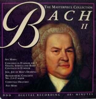 J.S. Bach Masterpiece Collection Vol. 2