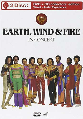 Earth Wind & Fire In Concert Incl. CD Ntsc(0)