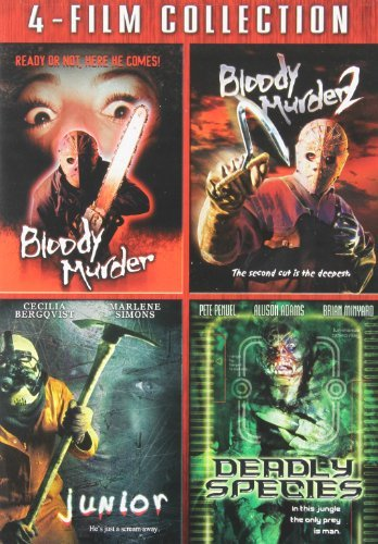 Bloody Murder 1 2 Junior Deadl Bloody Murder 1 2 Junior Deadl R 4 DVD