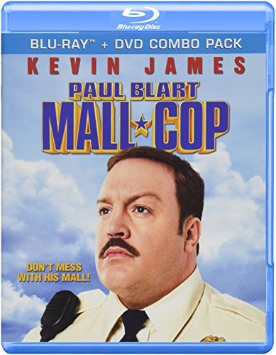 Paul Blart Mall Cop James Knight Mays Blu Ray+dvd Combo
