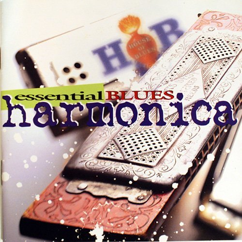 House Of Blues Essential Blues Harmonica 2 CD Set Incl. 24 Pg. Booklet House Of Blues