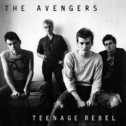 Avengers Teenage Rebel Friends Of Mine 7 Inch Single Orange Vinyl Lmtd Ed.