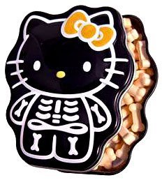 Candy Hello Kitty Skelly Bone Candy