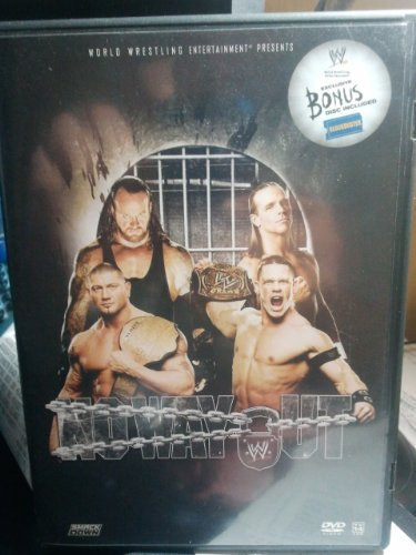 Wwe No Way Out 2007 Blockbuster 2 Disc Exclusive