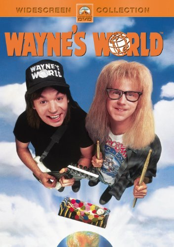 Wayne's World Myers Carvey Carrere DVD Pg13 Ws