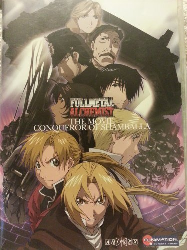 Fullmetal Alchemist Movie Conqueror Of Shamballa