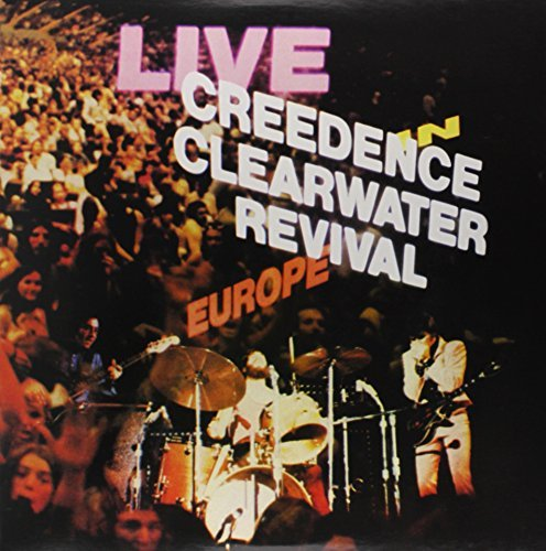 Creedence Clearwater Revival Live In Europe 180gm Vinyl 2 Lp