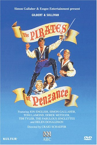 Gilbert & Sullivan Pirates Of Penzance Comp Opera Hocking Queensland Performing