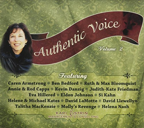 Authentic Voice Vol. 2 Kari Estrin Management Authentic Voice