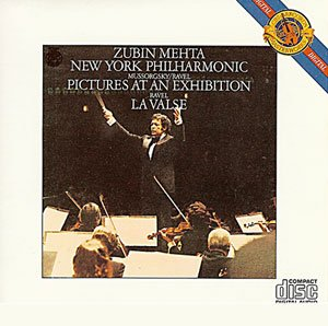 Zubin Mehta New York Philharmonic Mussorgsky Pictures At An Exhibition Ravel La