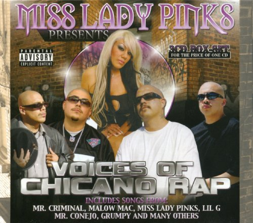 Miss Lady Pinks Presents Voices Of Chicano Rap Explicit Version 3 CD