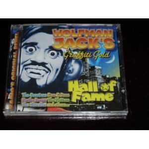 Wolfman Jack's Graffiti Gol Hall Of Fame Coasters Reeves Impressions Wolfman Jack's Graffiti Gold