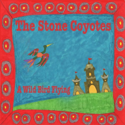 Stone Coyotes Wild Bird Flying