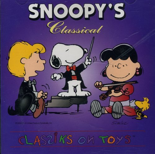 Snoopy's Classical Classiks On Toys
