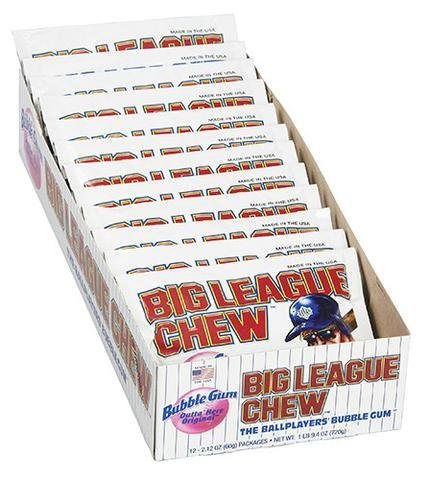 Gum Big League Chew Original C101519 12