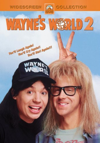 Wayne's World 2 Myers Carvey Carrere DVD Pg13 Ws