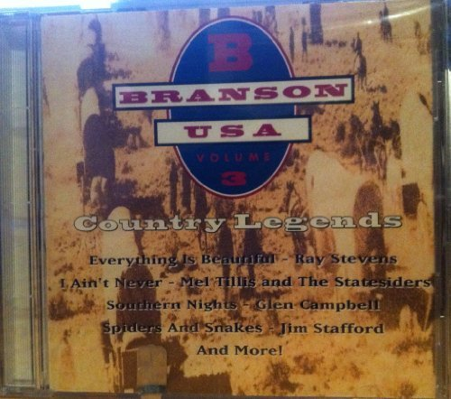 Branson Usa Vol. 3 Country Legends Campbell Stevens Mandrell Branson Usa